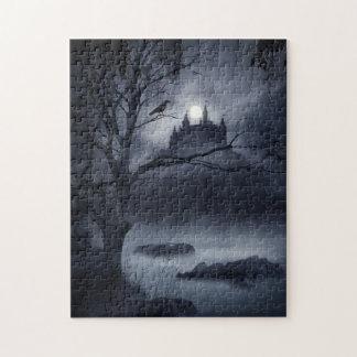 Rompecabezas gótico de la fantasía de la noche