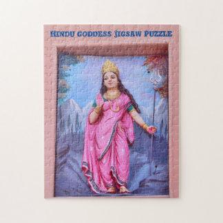 Rompecabezas hindú de la diosa