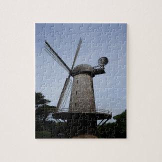 Rompecabezas holandés del molino de viento de San