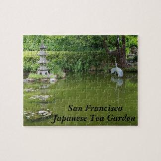 Rompecabezas japonés de la charca #2 del jardín de