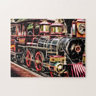 Rompecabezas ligero locomotor