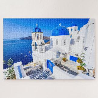 Rompecabezas Oia Santorini