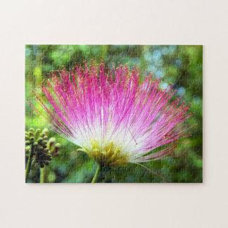 Rompecabezas persa de la foto de la flor del árbol