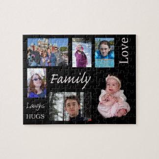 Rompecabezas personalizado de la foto de familia