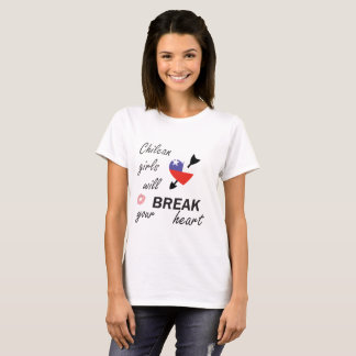 Rompecorazones chileno camiseta