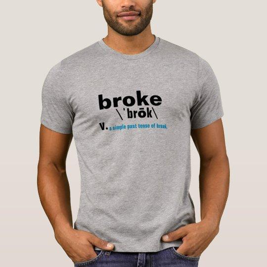 rompió el diccionario que significaba diseño camiseta