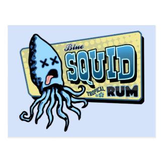 Ron del calamar postal