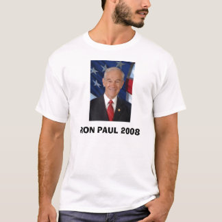 RON PAUL 2008 CAMISETA