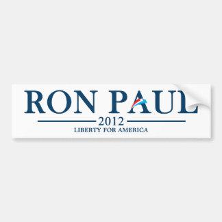 Ron Paul 2012 - Liberity para América Pegatina De Parachoque
