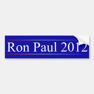 Ron Paul 2012 Pegatina Para Coche