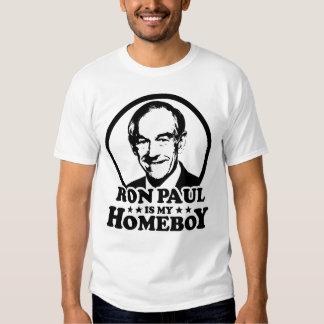 Ron Paul es mi Homeboy Camisas