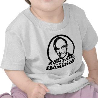 Ron Paul es mi Homeboy Camiseta