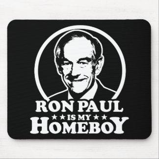 Ron Paul es mi Homeboy Alfombrillas De Ratones