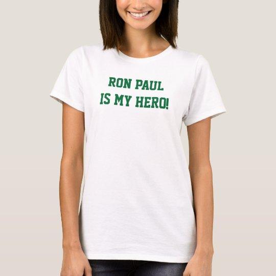 Ron Paul es mis camisetas sin mangas de los chicas