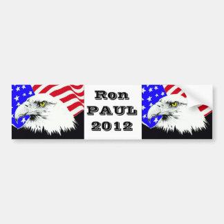 Ron Paul para el presidente 2012 Pegatina De Parachoque