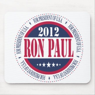 Ron Paul para el presidente Alfombrilla De Ratón