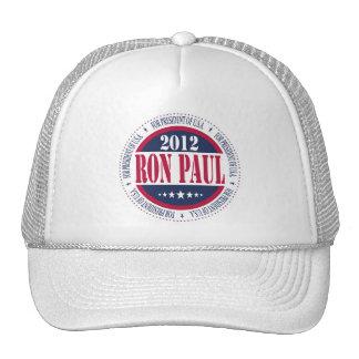 Ron Paul para el presidente Gorro De Camionero