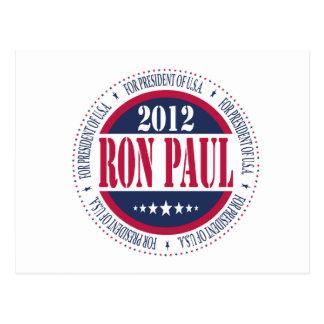 Ron Paul para el presidente Postal