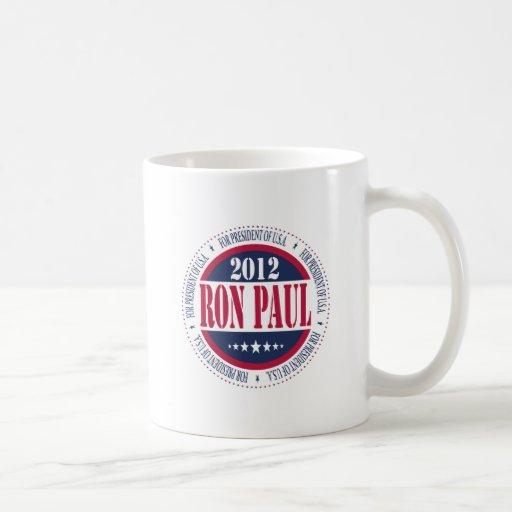 Ron Paul para el presidente Tazas