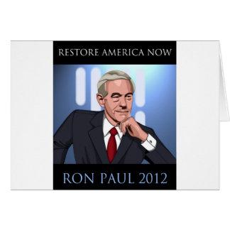 RON PAUL: UNA NUEVA ESPERANZA FELICITACIÓN