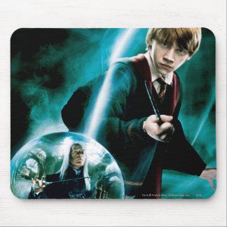 Ron Weasley y Lucius Malfoy Alfombrilla De Ratón