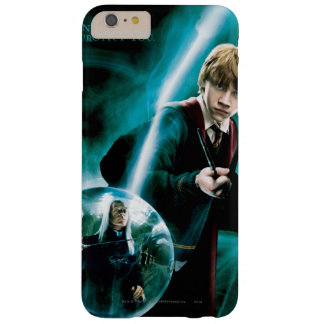 Ron Weasley y Lucius Malfoy Funda De iPhone 6 Plus Barely There