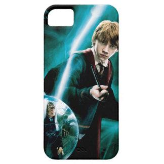 Ron Weasley y Lucius Malfoy iPhone 5 Fundas