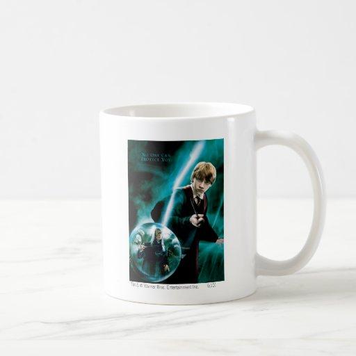 Ron Weasley y Lucius Malfoy Taza De Café