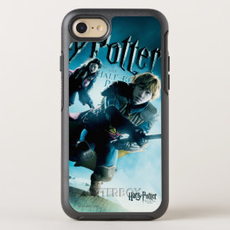 Ron y Ginny en las escobas 1 Funda OtterBox Symmetry Para iPhone 7