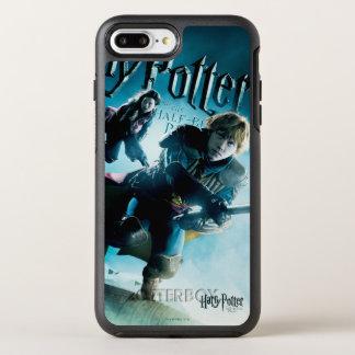 Ron y Ginny en las escobas 1 Funda OtterBox Symmetry Para iPhone 7 Plus