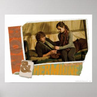 Ron y Hermione 1 Impresiones