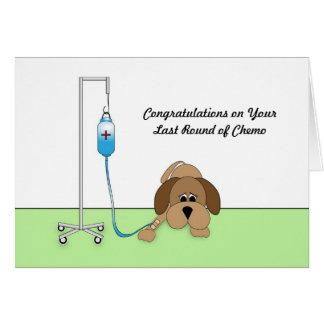Ronda del último de la tarjeta de la enhorabuena