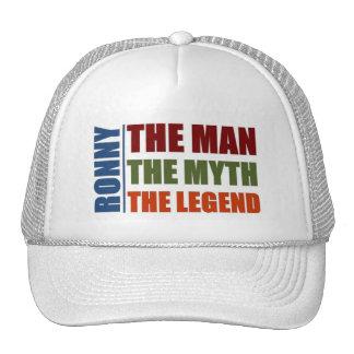 Ronny el hombre, el mito la leyenda gorro