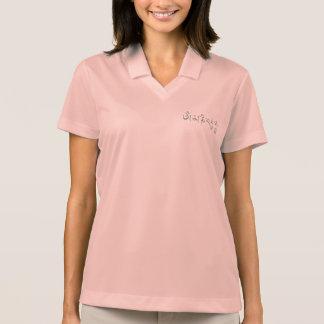 Ronquido de OM Mani Padme Polo Camisetas