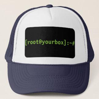 [root@yourbox]: gorra del ~#