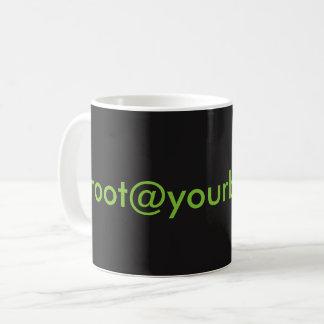 [root@yourbox]: taza del ~#