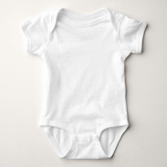 Body para bebés de Jersey, Blanco