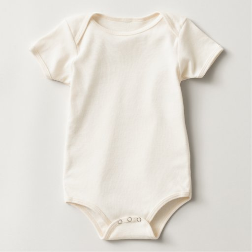 Body ecológico de American Apparel para bebés, Natural