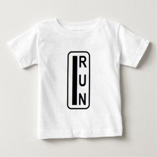 Ropa de la aptitud de IRÚN Camiseta De Bebé