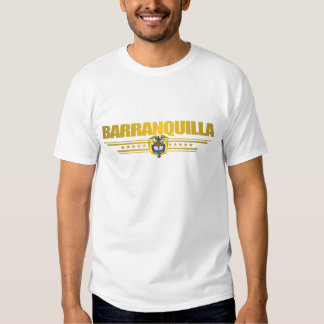 Ropa de la bandera de Barranquilla Camisetas