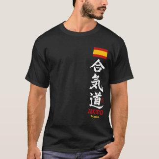 Ropa de la oscuridad de España del kanji del Camiseta