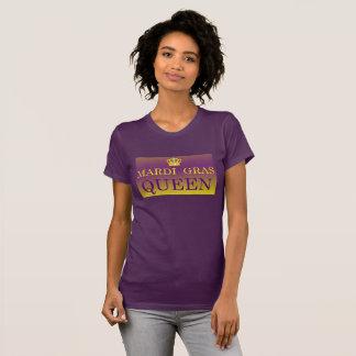 Ropa de la reina del carnaval camiseta