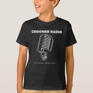 Ropa de radio del cantante melódico camiseta