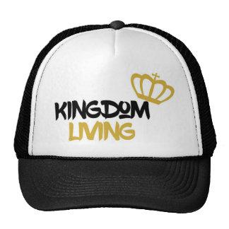 """Ropa de vida del """"reino"""" gorros bordados"""