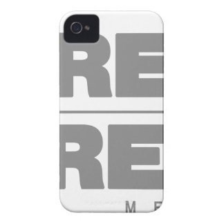 Ropa del área gris \ gris carcasa para iPhone 4 de Case-Mate