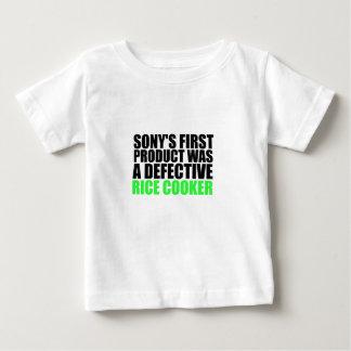 Ropa del arroz de Sony Camisetas