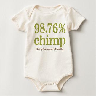 ¡Ropa del bebé con el logotipo de 98,76% Peleles