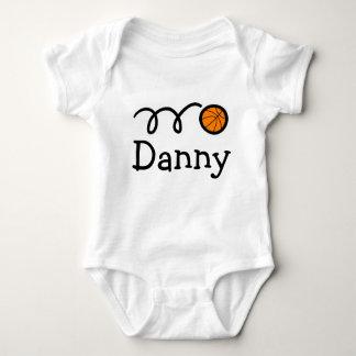 Ropa del bebé con la impresión del nombre y del body para bebé