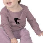 Ropa del bebé de Ninja de la yogui Camiseta