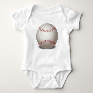 Ropa del bebé del béisbol body para bebé